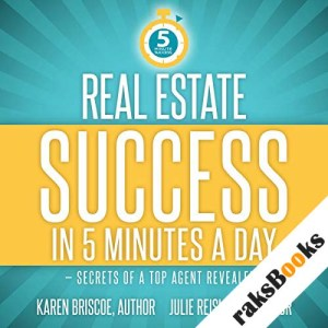 Real Estate Success in 5 Minutes a Day audiobook cover art