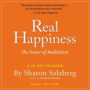 Real Happiness audiobook cover art
