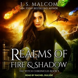 Realms of Fire and Shadow audiobook cover art