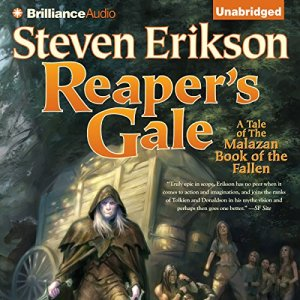 Reaper's Gale audiobook cover art