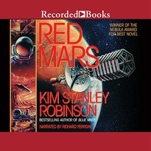 Red Mars audiobook cover art