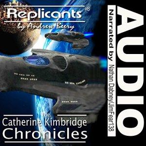 Replicants audiobook cover art