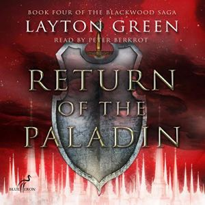 Return of the Paladin audiobook cover art