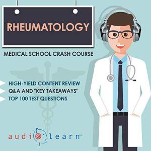 Rheumatology: Medical School Crash Course audiobook cover art
