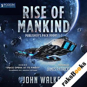 Rise of Mankind: Publisher's Pack, Books 1 & 2 audiobook cover art