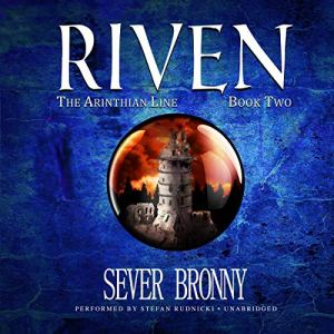 Riven audiobook cover art