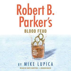 Robert B. Parker's Blood Feud audiobook cover art