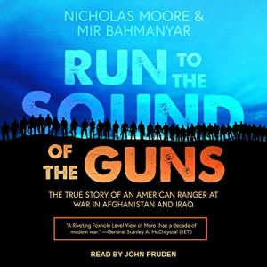 Run to the Sound of the Guns audiobook cover art