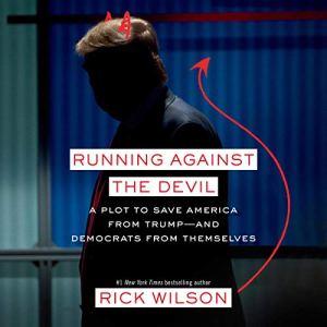 Running Against the Devil audiobook cover art