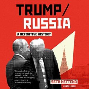 Trump/Russia audiobook cover art