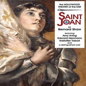 Saint Joan audiobook cover art