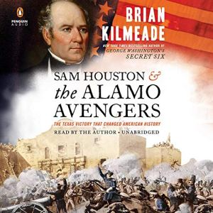 Sam Houston and the Alamo Avengers audiobook cover art