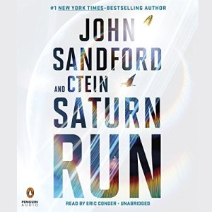Saturn Run audiobook cover art