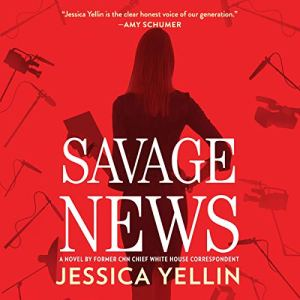 Savage News audiobook cover art
