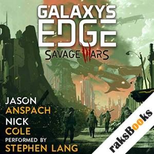 Savage Wars audiobook cover art