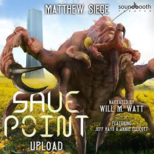 Save Point: Upload audiobook cover art