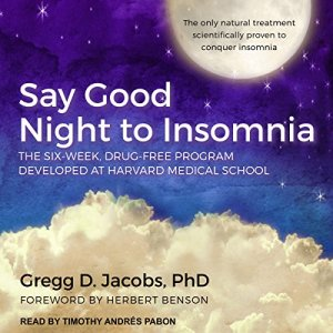 Say Good Night to Insomnia audiobook cover art