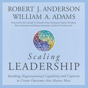 Scaling Leadership audiobook cover art
