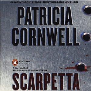 Scarpetta audiobook cover art