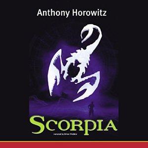 Scorpia audiobook cover art