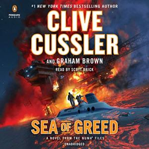 Sea of Greed audiobook cover art