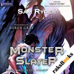 Seeker: Monster Slayer audiobook cover art