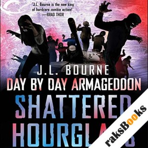 Shattered Hourglass audiobook cover art