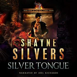 Silver Tongue audiobook cover art