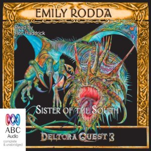 Sister of the South audiobook cover art
