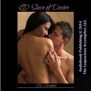 Slave of Desire audiobook cover art