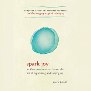 Spark Joy audiobook cover art