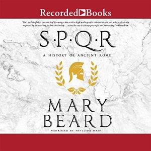 SPQR audiobook cover art