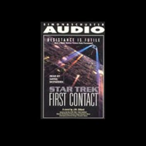 Star Trek: The Next Generation: First Contact (Adapted) audiobook cover art