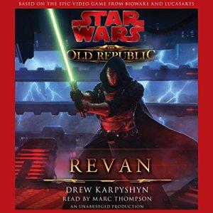 Star Wars: The Old Republic: Revan audiobook cover art