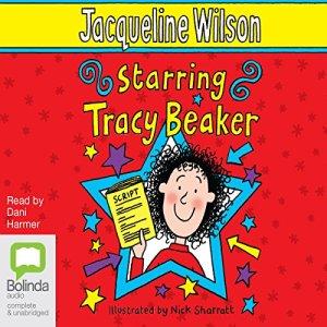 Starring Tracy Beaker audiobook cover art