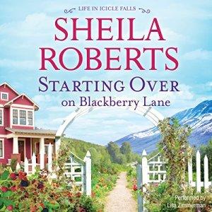 Starting over on Blackberry Lane audiobook cover art