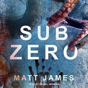 SUB ZERO audiobook cover art
