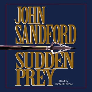 Sudden Prey audiobook cover art