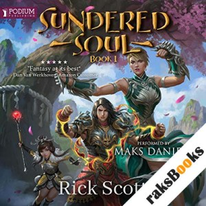Sundered Soul audiobook cover art