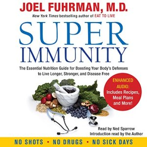 Super Immunity audiobook cover art