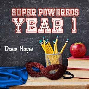 Super Powereds: Year 1 audiobook cover art