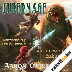 Supermage audiobook cover art