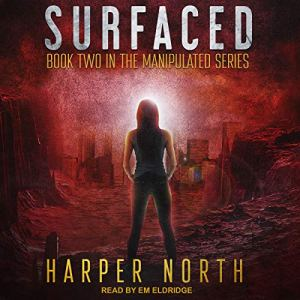 Surfaced audiobook cover art
