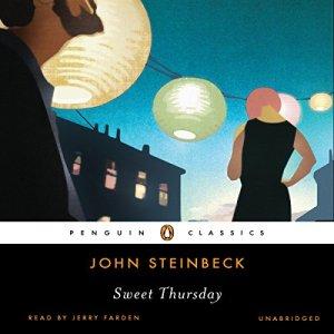 Sweet Thursday audiobook cover art