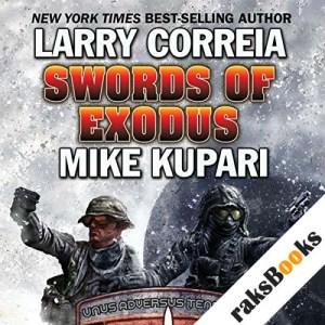 Swords of Exodus audiobook cover art