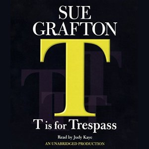 T Is for Trespass audiobook cover art