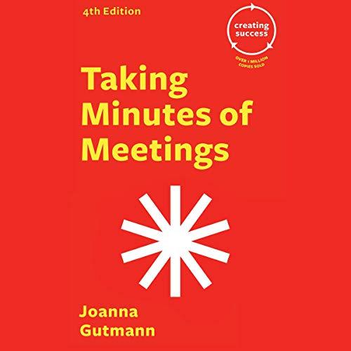Taking Minutes of Meetings audiobook cover art