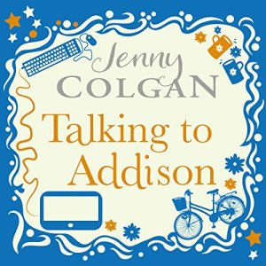 Talking to Addison audiobook cover art
