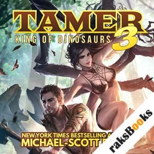 Tamer: King of Dinosaurs 3 audiobook cover art