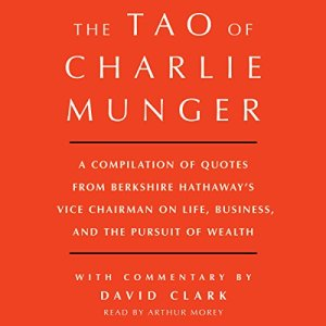 Tao of Charlie Munger audiobook cover art